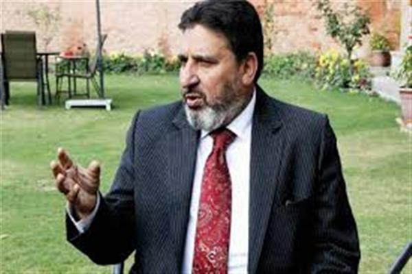 Altaf Bukhari grieved over demise of Ghulam Hassan Mir