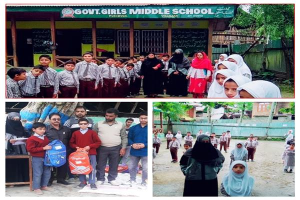 A teacher from Kupwara who donates salary to assist poor students