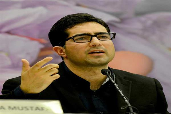 Remember orphans, widows, victims of violence during holy Ramadan: Shah Faesal