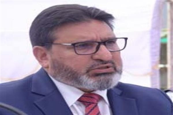 Altaf Bukhari grieved over Maharaja Bazar fire incident