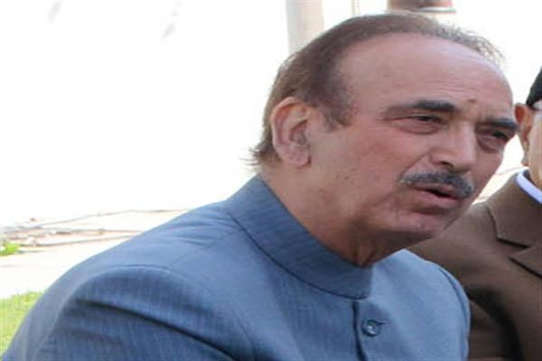 Azad expresses grief over killing of youth in Bhadarwah