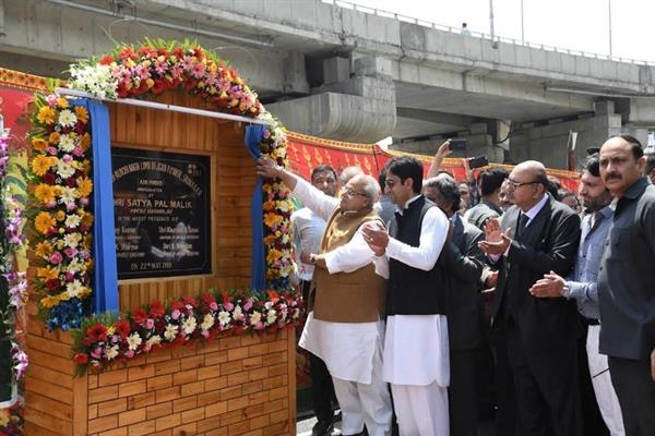 Second limb of Rambagh flyover thrown open for traffic