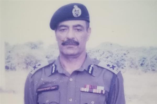 DGP, other cadres condole demise of IGP (Retd.) Mohd. Shafi Wani