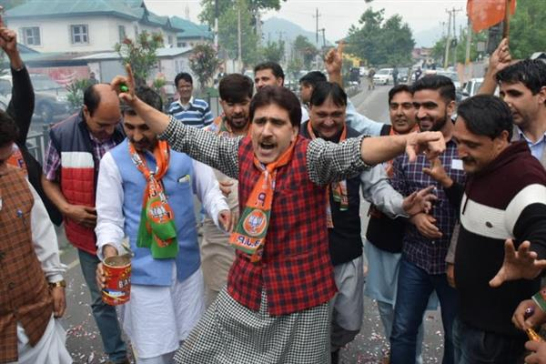 BJP jubilant over party victory of 2019 Lok Sabha Election