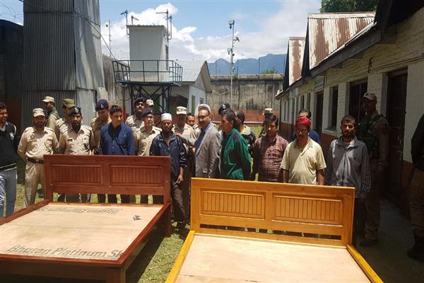 DGP Prisons visits Central Jail Srinagar