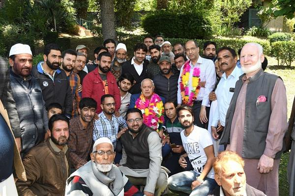 The faith people of Kashmir placed in us is humbling, it gives our party ...