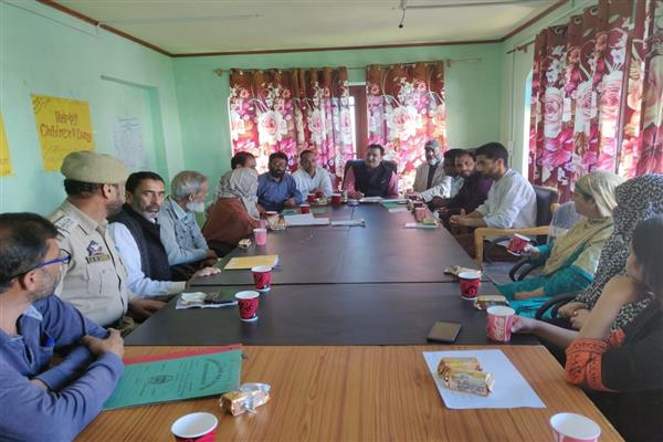 SCOC reviews implementation of JJ act at Bandipora