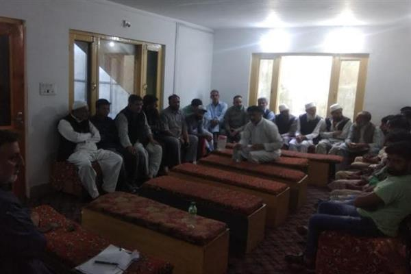 People's Conference kick starts political activity in Budgam, Ganderbal