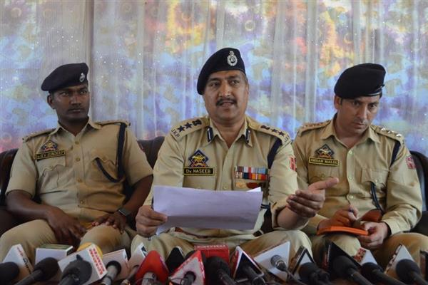 Rs 34 lakh stolen from Govt quarters recovered, burglar arrested: SSP Srinagar