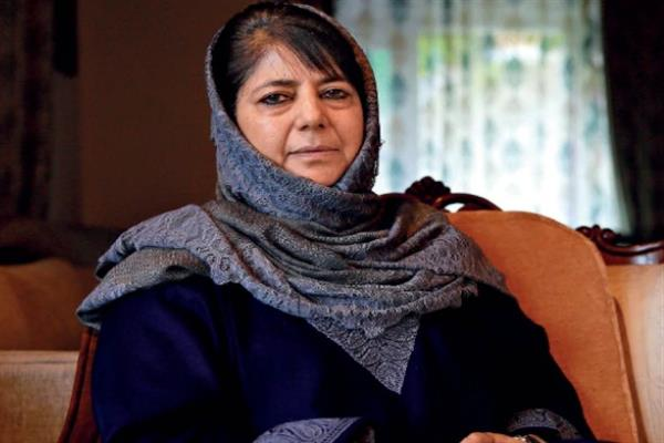 Mehbooba for fast paced development of Chadoora constituency