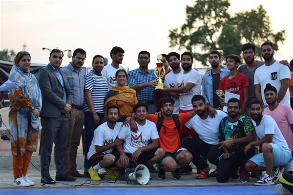 3-day Kashmir Basketball League concludes at Indoor stadium