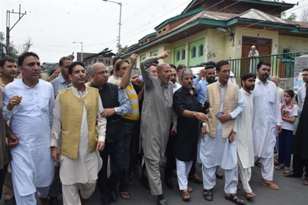 Er Rasheed urges Indo-Pak to fulfill promises made with Kashmiris