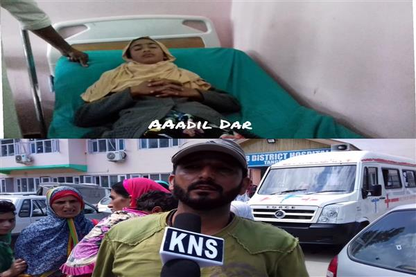 CRPF men rescue girl from Nallah Ferozpora, save her life
