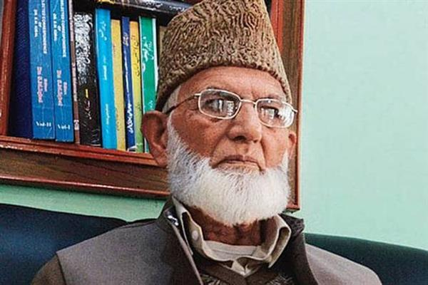 Geelani recovering: Hurriyat (G)