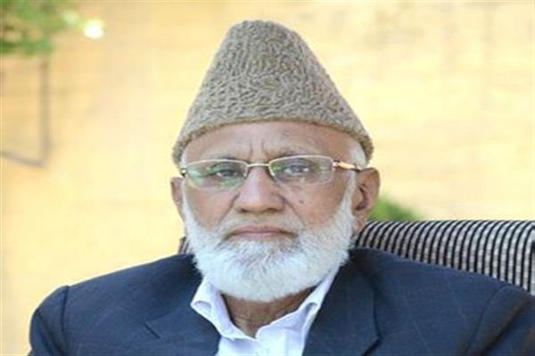 Sehrai appeals Indo-Pak leaders to avoid path of confrontation