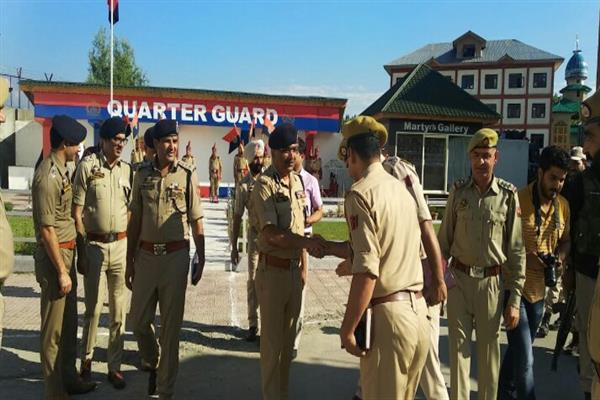 DGP reviews security scenario in Ganderbal