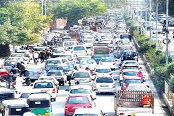 Ongoing board exams, flow of vehicles from districts reasons for traffic jams: SSP Traffic
