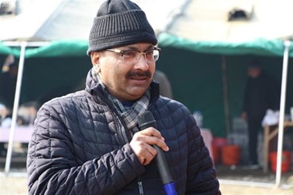 DGP interacts with officers, Jawans at DPL Ganderbal