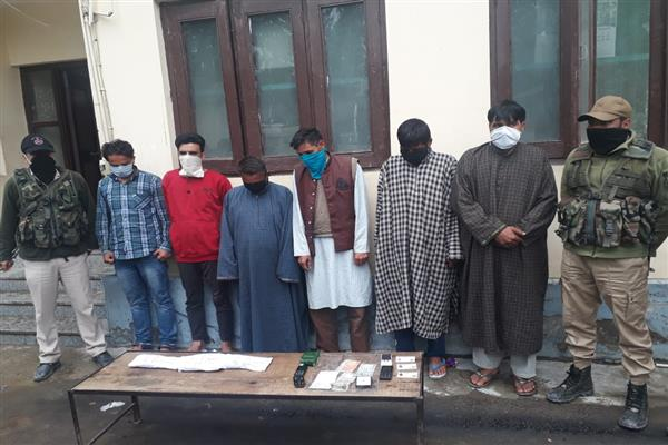 Drug peddlers,  Gamblers arrested in Pattan : Police