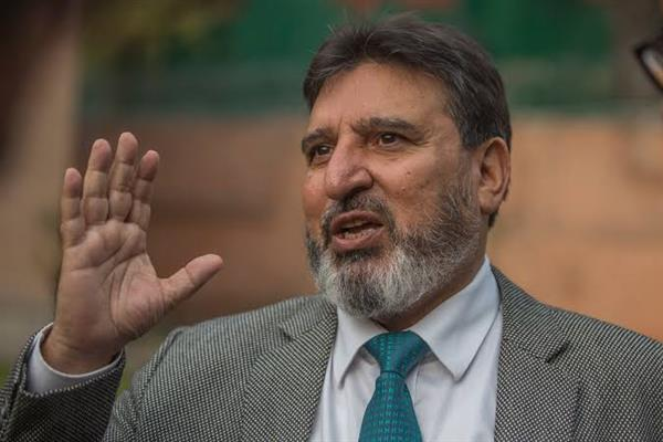 Altaf Bukhari demands a revised policy on geology, mining activities in J&K
