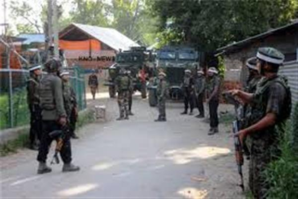 Security forces launched CASO in Budgam Village