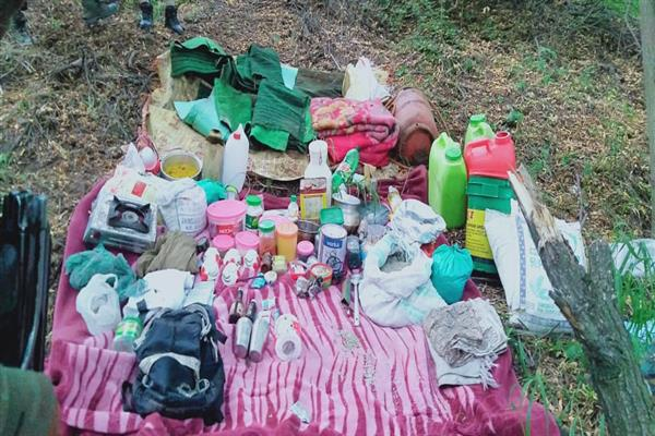 Hideout busted in Awantipora:Police