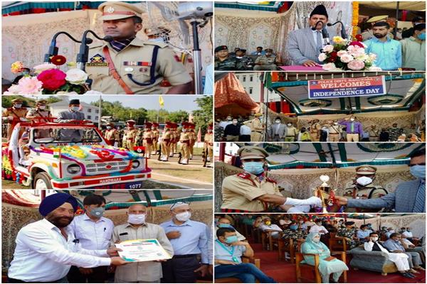 74th Independence Day celebrated in  Handwara