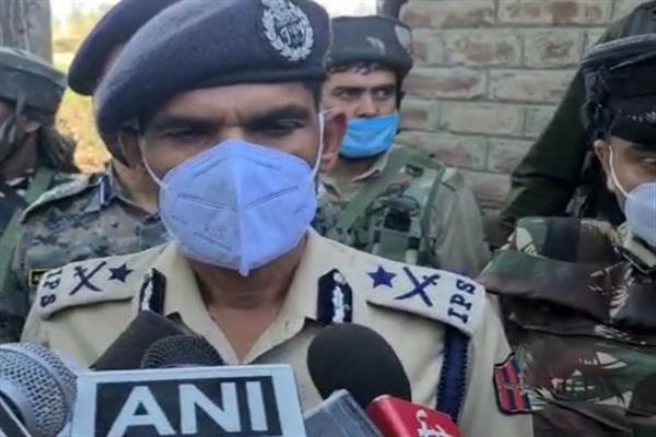Three LeT militants target naka party at Kreeri: IGP Kashmir