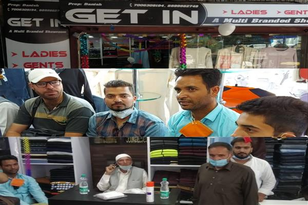 Multi-branded showroom'GET IN' Garments inaugurated at Baramulla