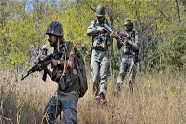 Encounter rages in south Kashmir
