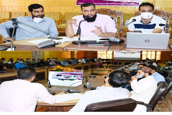 B2V3: Bandipora admin organizes training session for visiting officers