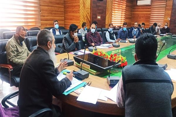 Director Law Enforcement JK took stock of working of Law enforcement Agency