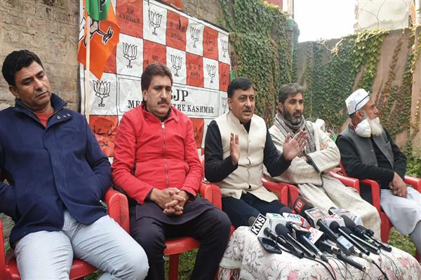 Gupkar Gang' stands exposed by announcing participation in DDC polls: Vibodh Gupta